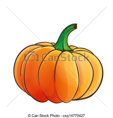 450x470 Halloween Pumpkin Clip Art