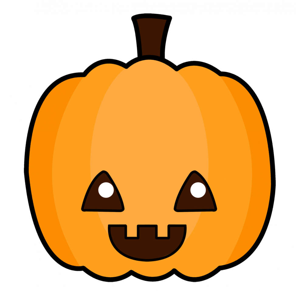 974x957 Coloring Pages Cute Cartoon Pumpkins Free To Use Pumpkin Clip