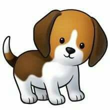 220x220 Puppy Pictures Of Cute Cartoon Puppies Clipart Silhouette Cameo