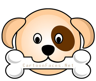 312x263 Puppy Cartoon Faces Cartoon Faces