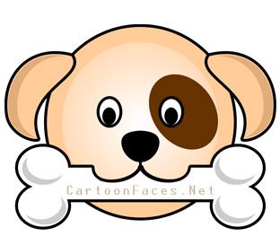 312x263 Puppy Cartoon Faces Cartoon Faces