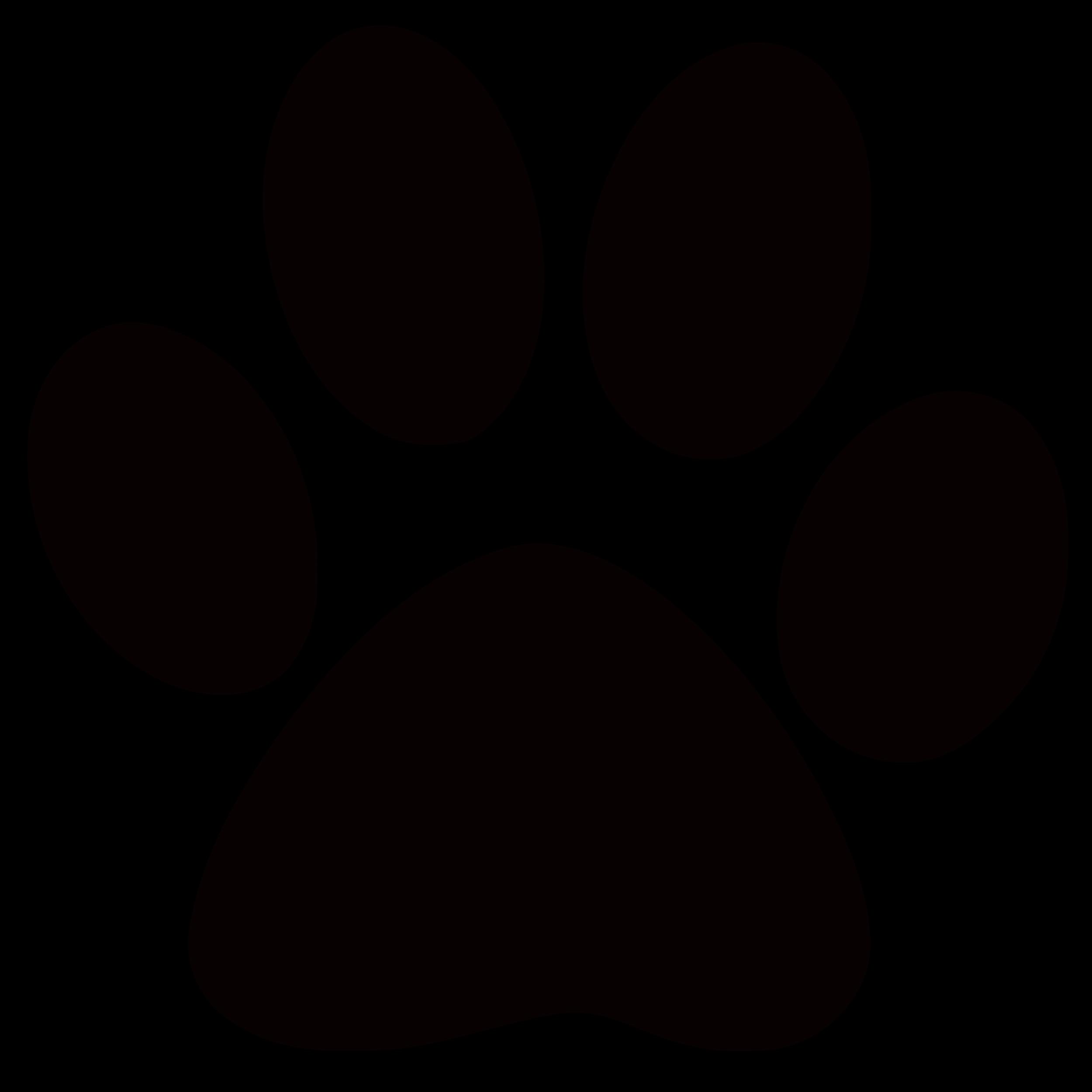2500x2500 Dog Paw Print Clip Art