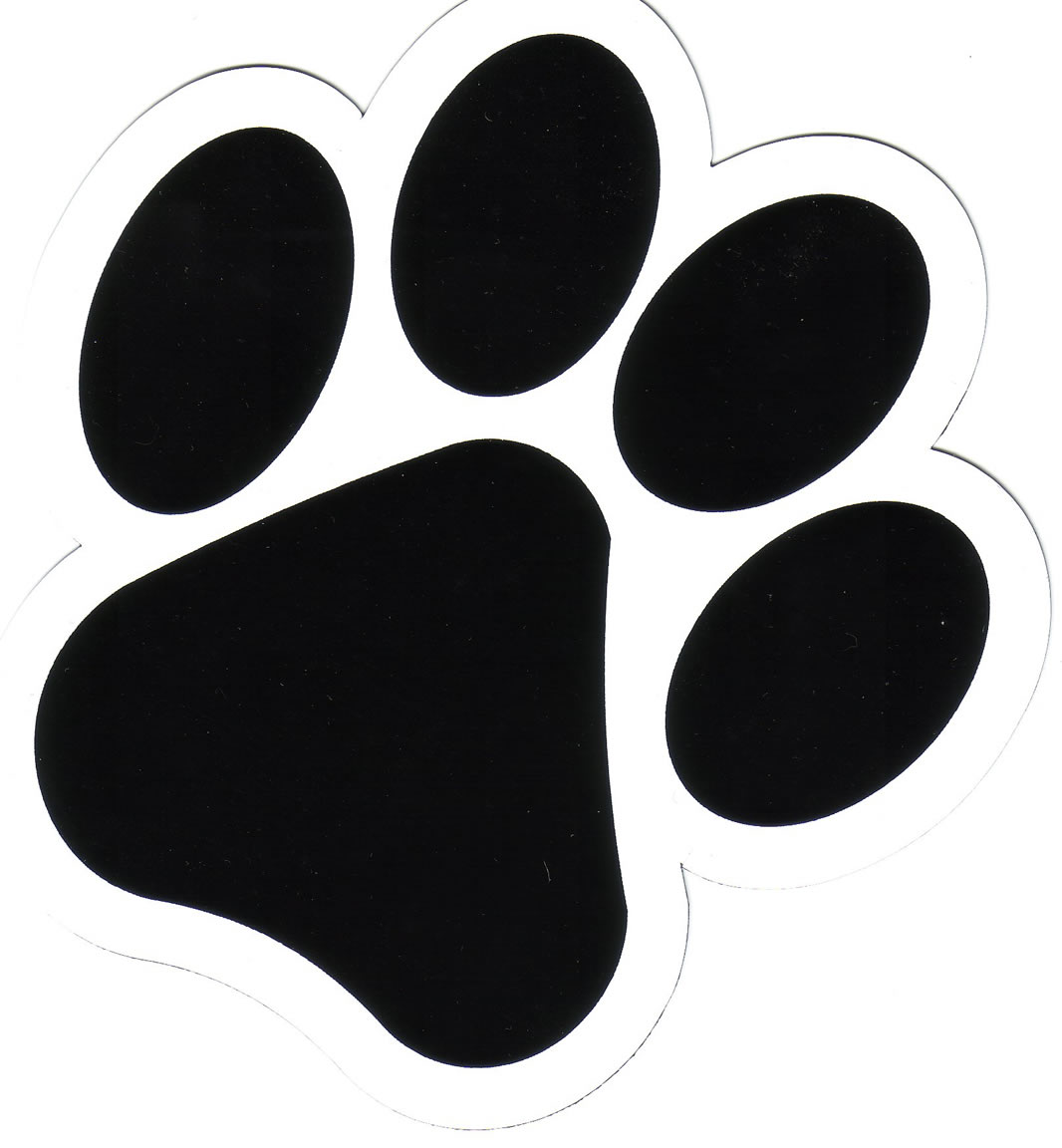 1066x1152 Paw Print Tattoos On Dog Paw Prints Scroll Clipart 3 8 3