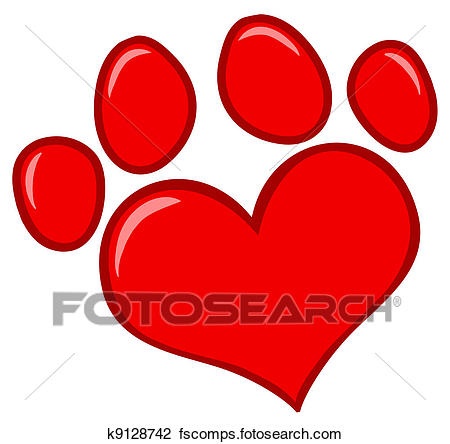450x444 Dog Paw Print Clipart Vector Graphics. 5,688 Dog Paw Print Eps