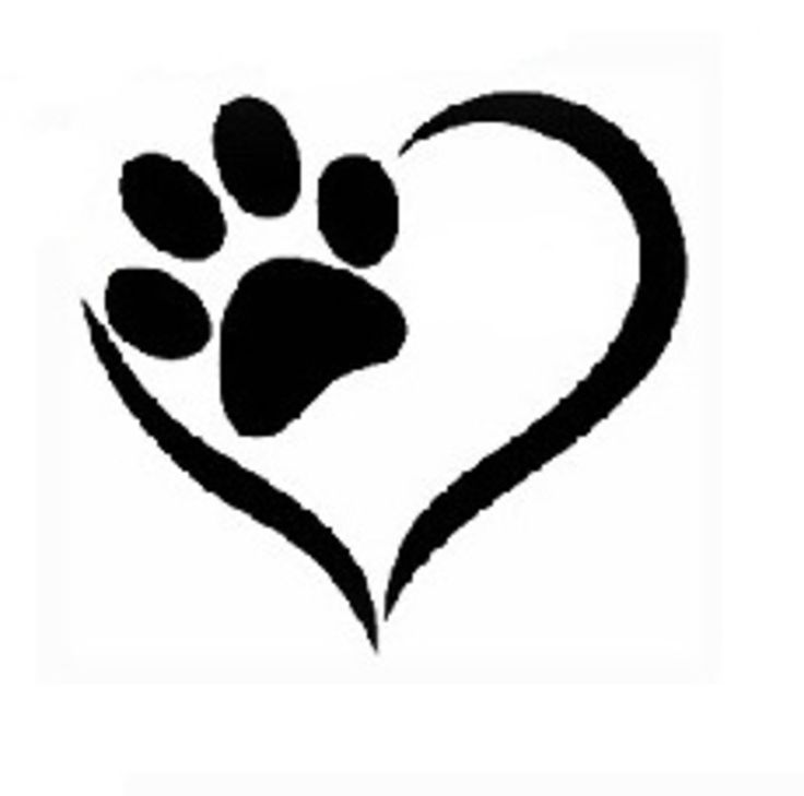 736x729 Collection Of Paw Print Tattoo