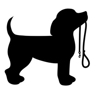 300x300 Paw Clipart Dog Lead