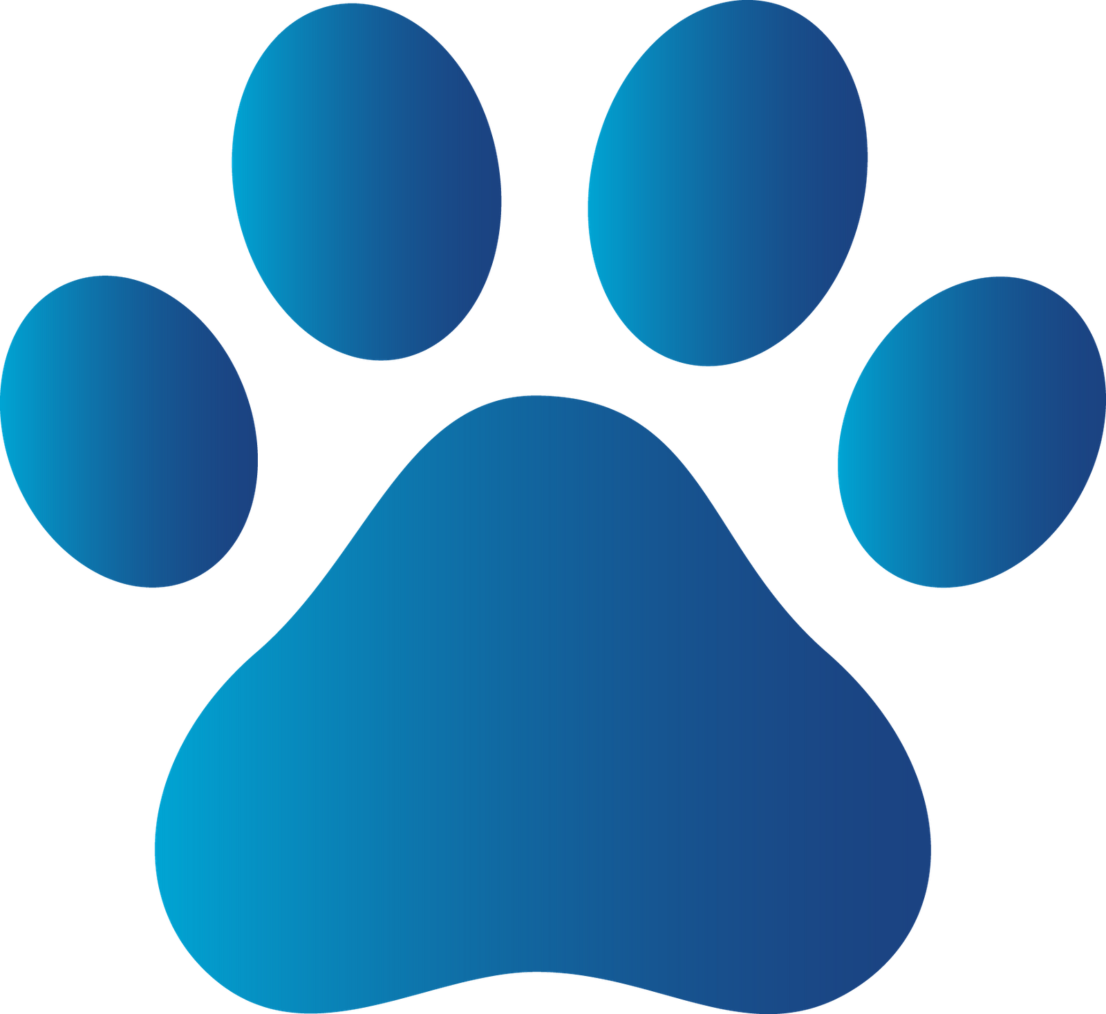 1600x1467 Paw Clipart Litter Puppy