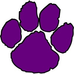 250x250 Puppy Clipart Purple