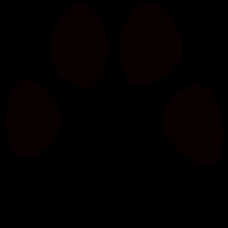 800x800 Clip Art Dog Paw Print