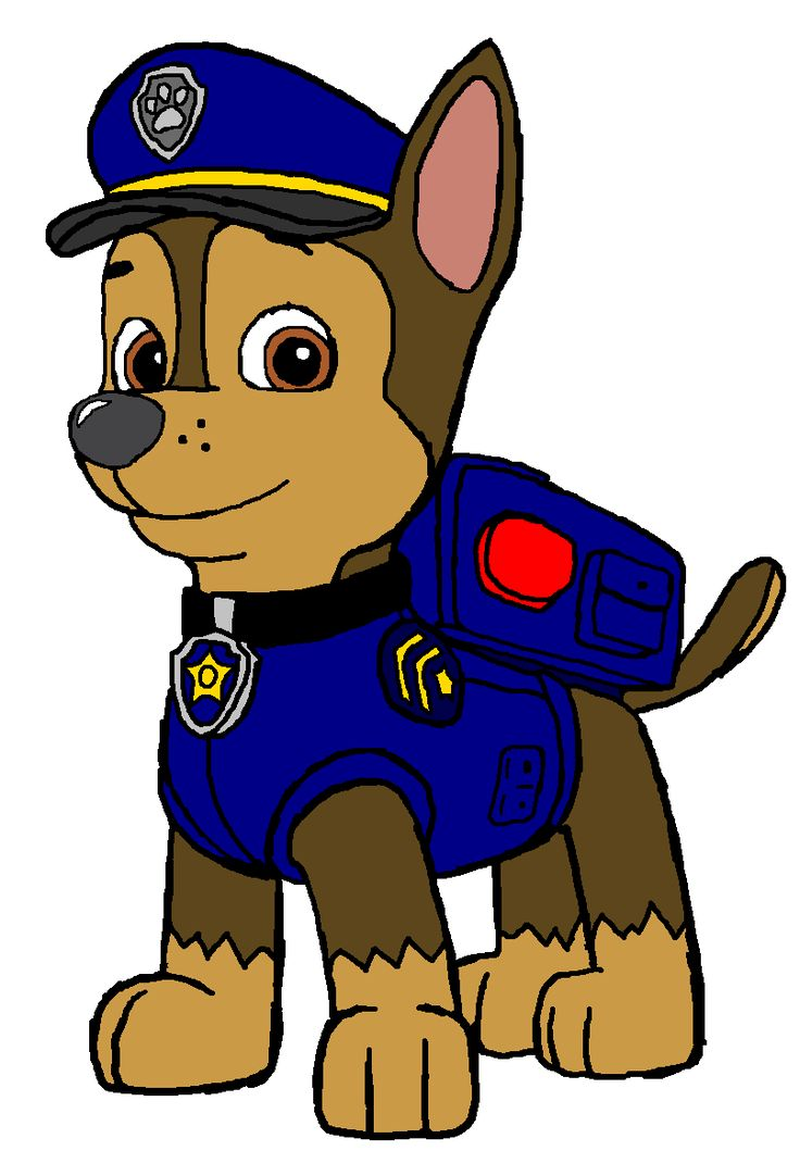 736x1082 Clipart Of Police Dog