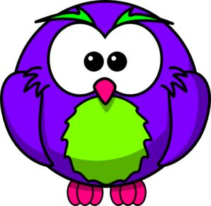 Purple Bird Clipart