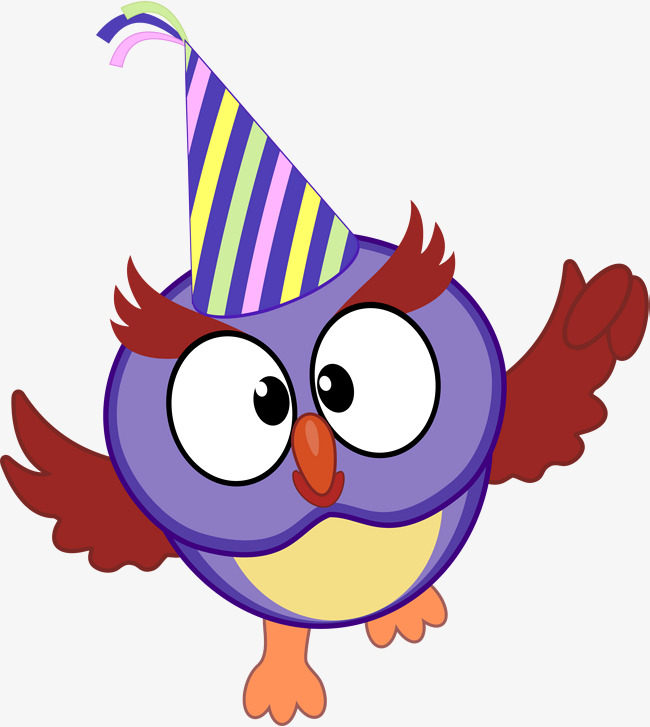 650x727 Purple Cartoon Bird, Purple Bird, Cartoon Birds, Owl Png Image