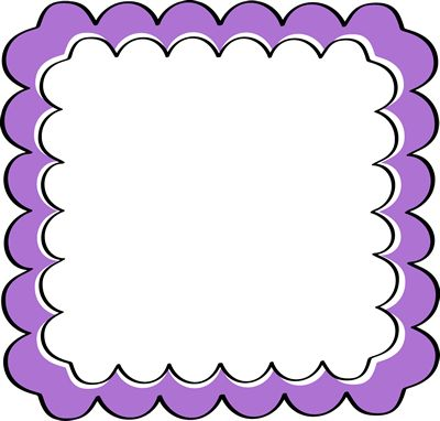 Purple Borders Clipart
