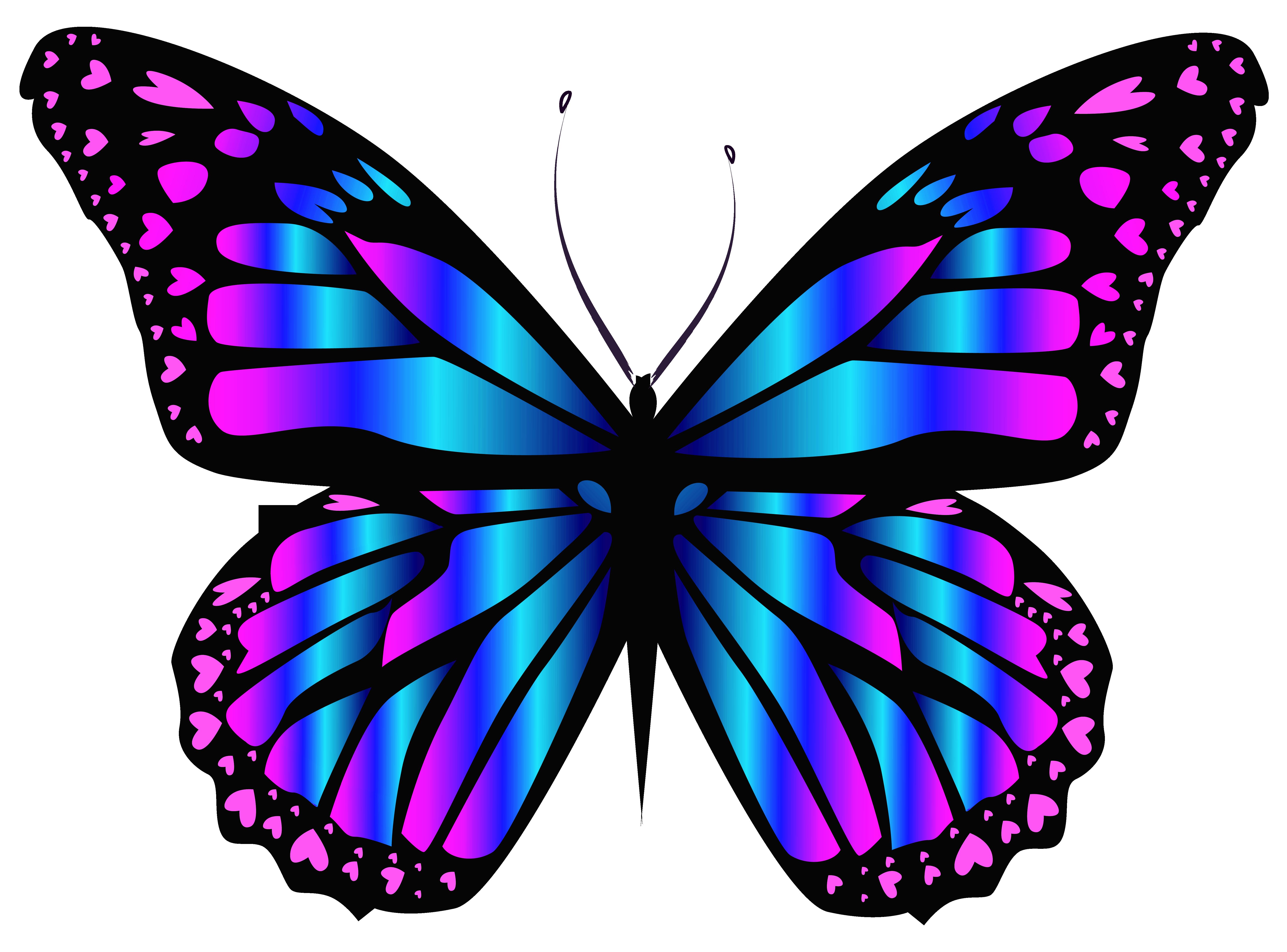Light Designs Purple Butterfly Cliparts Free Download Best Purple
