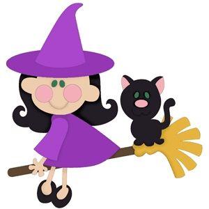 Purple Cat Clipart