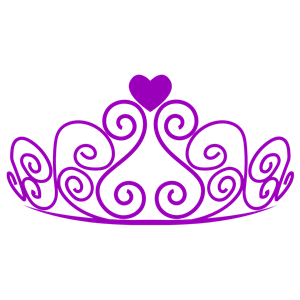 Purple crown. Clipart free download best