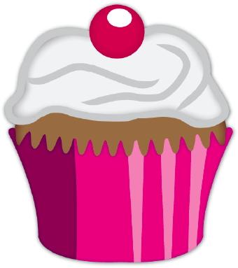 340x383 Vanilla Cupcake Clipart Cupcake Tower
