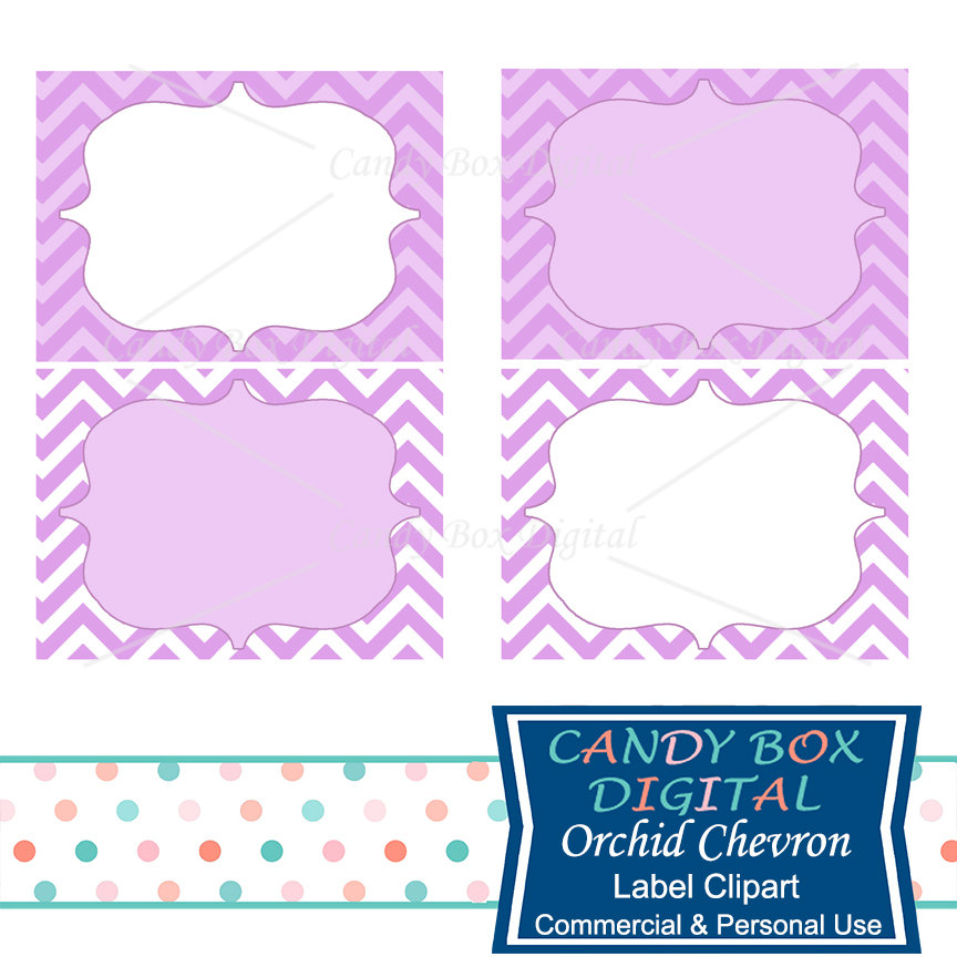 864x864 Orchid Chevron Label Clipart Purple Frame Label Clip Art
