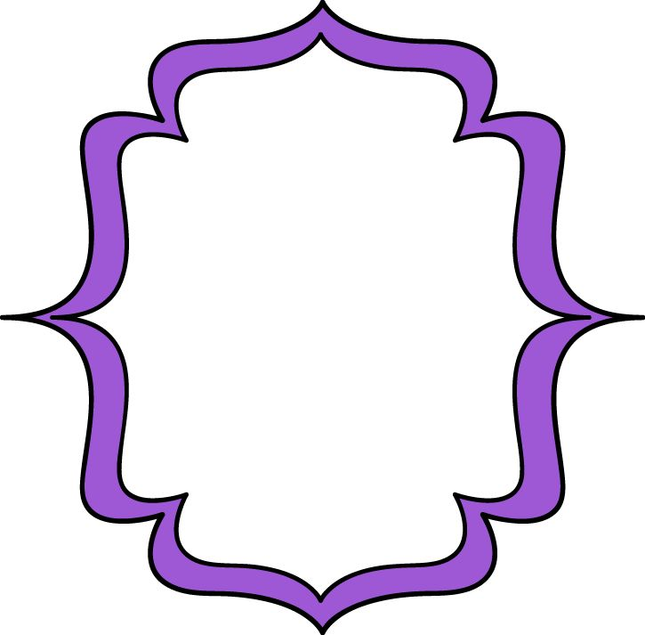 Purple Frame Clipart | Free download best Purple Frame Clipart on ...
