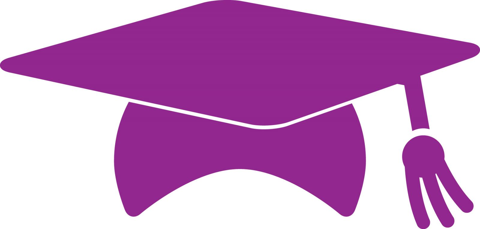 1600x764 Graduation Clipart Purple