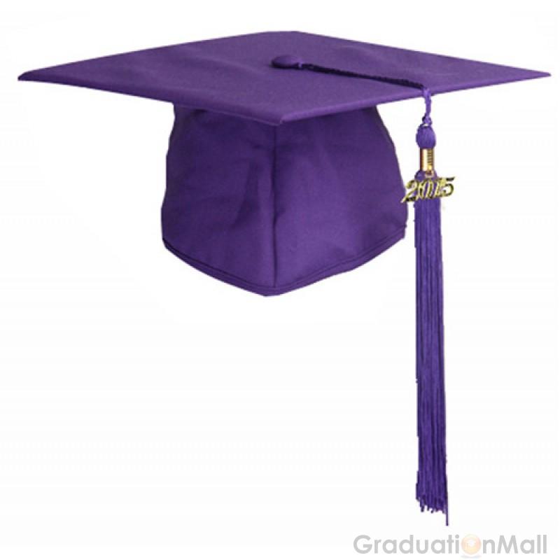 800x800 Premium Graduation Cap Gown Package Purple