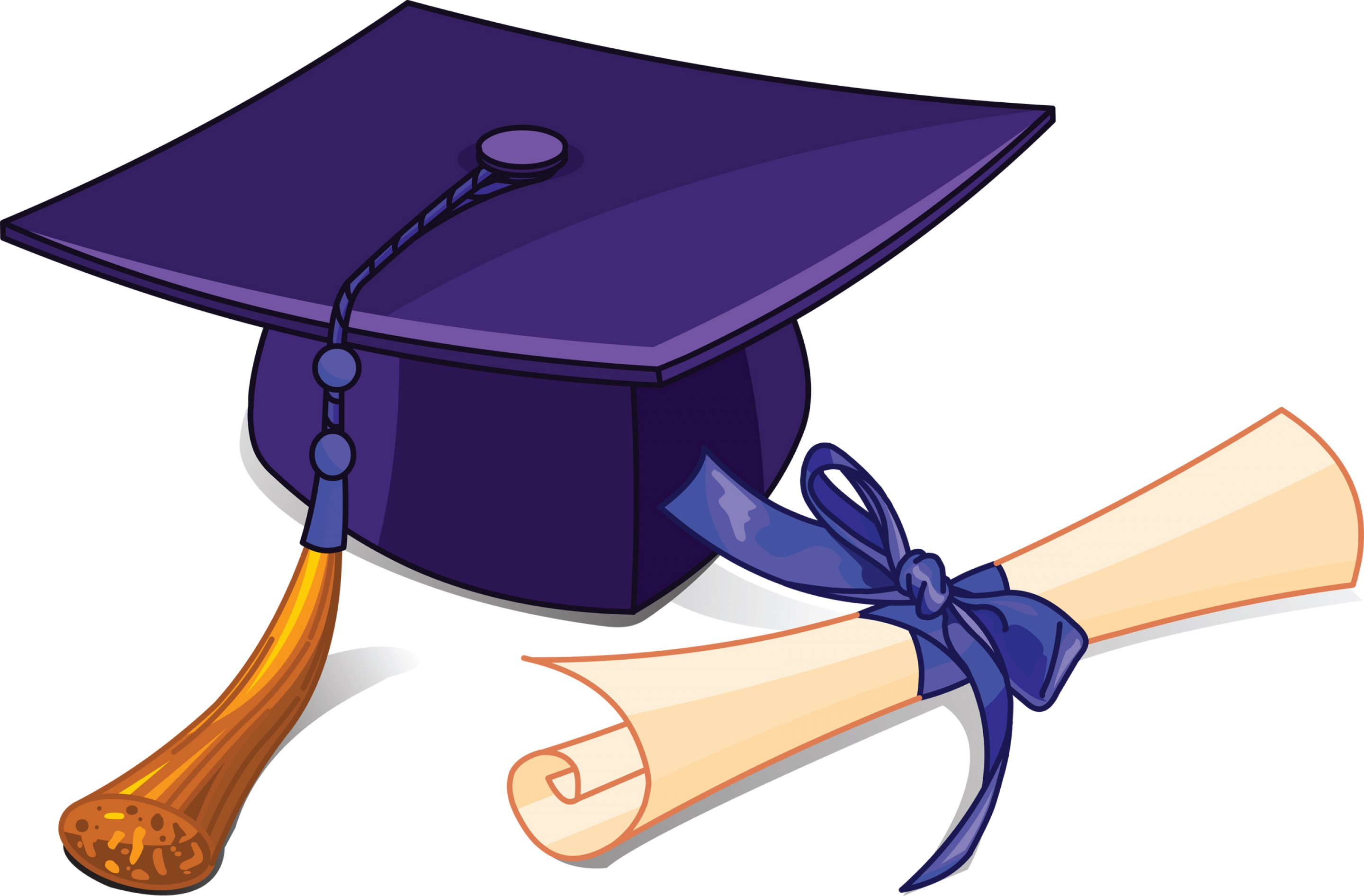 2880x1892 Purple Diploma Cliparts 248345