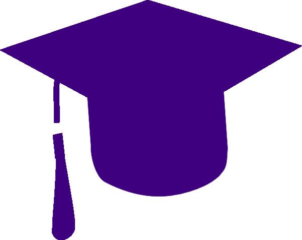 600x476 Purple Grad Cap Clip Art