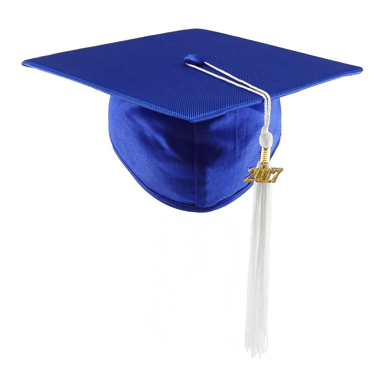 1500x1500 Blue Graduation Cap