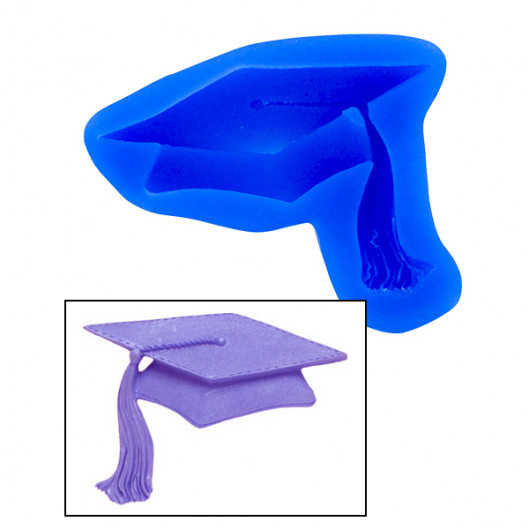 529x529 Graduation Cap Mold By First Impressions Molds Miscellaneous Molds
