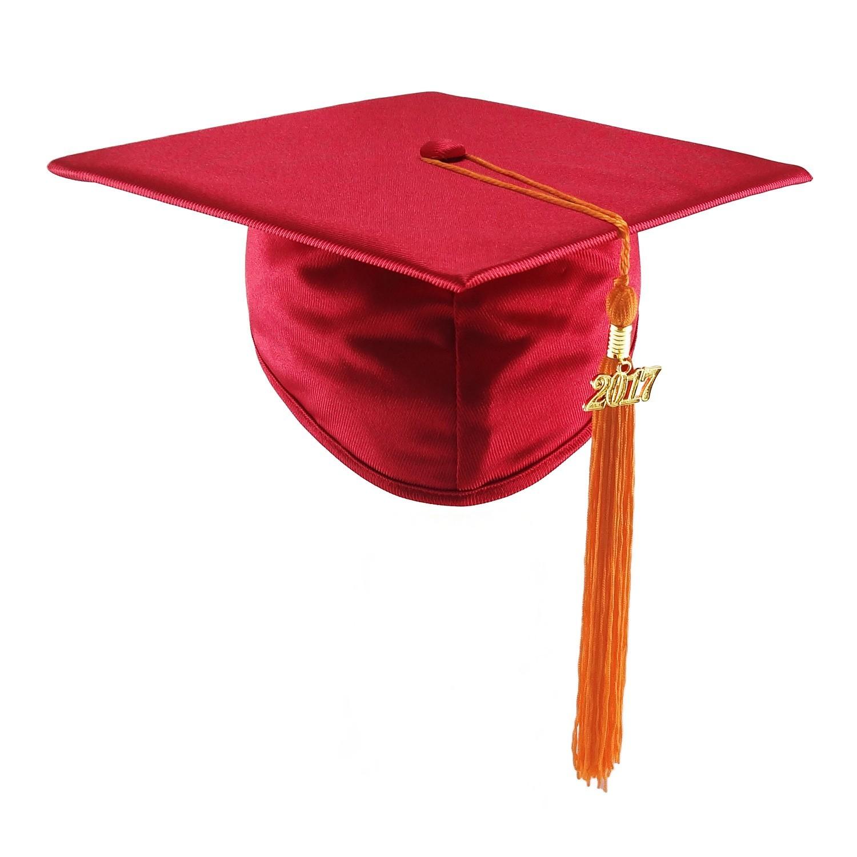 1500x1500 Red Graduation Cap