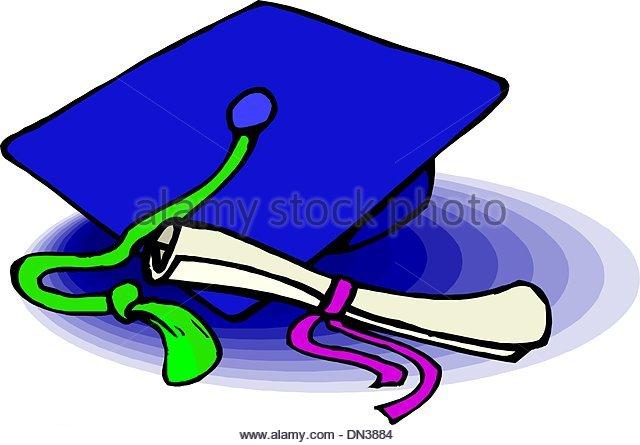 640x445 Black Graduation Hat Gold Tassel Stock Photos Amp Black Graduation
