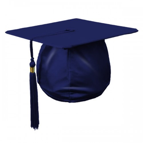 500x500 Children's Graduation Hat In Satin Finish With Tassel