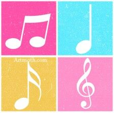224x222 Pink Music Note Music Note Clipart Pink Music