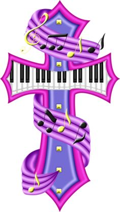 236x416 Music Notes Clipart Cross