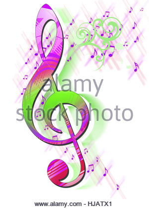 300x420 Music Poster Notes Stock Photo, Royalty Free Image 114962925