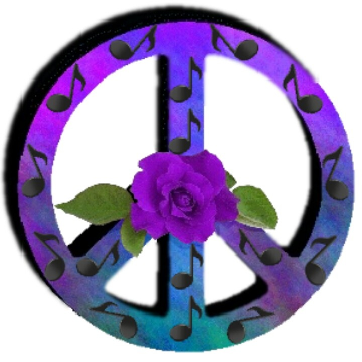 720x720 Purple Peace Sign Purple Flower Peace Noted Peace Sign