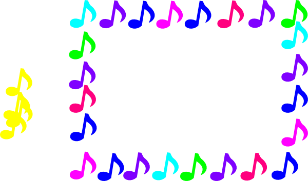 600x353 Abbey Music Notes Clip Art