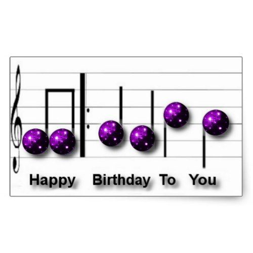 500x500 Best Happy Birthday Music Notes Ideas Birthday