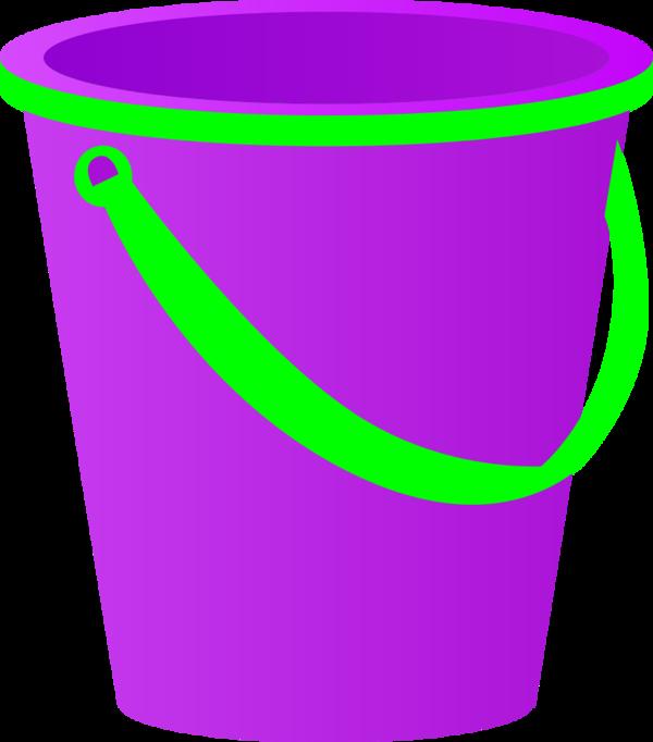 600x682 Purple Clipart Bucket