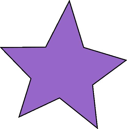 494x500 Star Clipart Purple