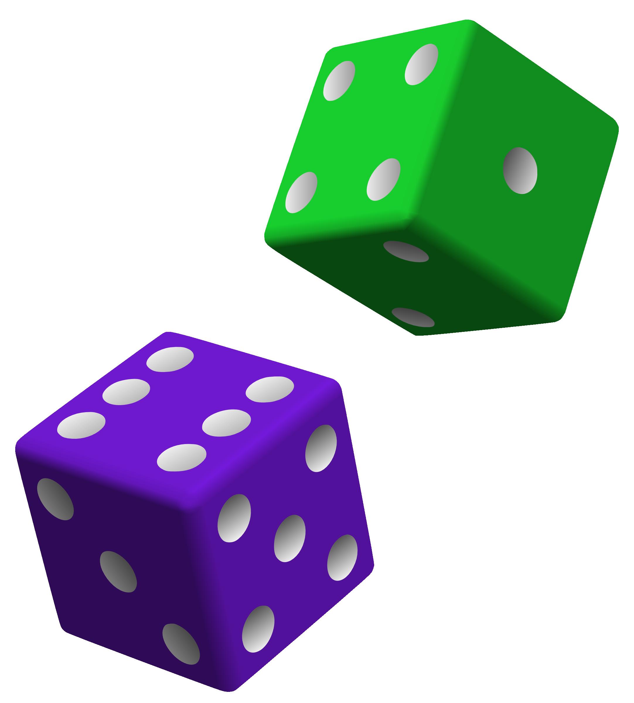 2164x2400 Two Purple Dice Clip Art
