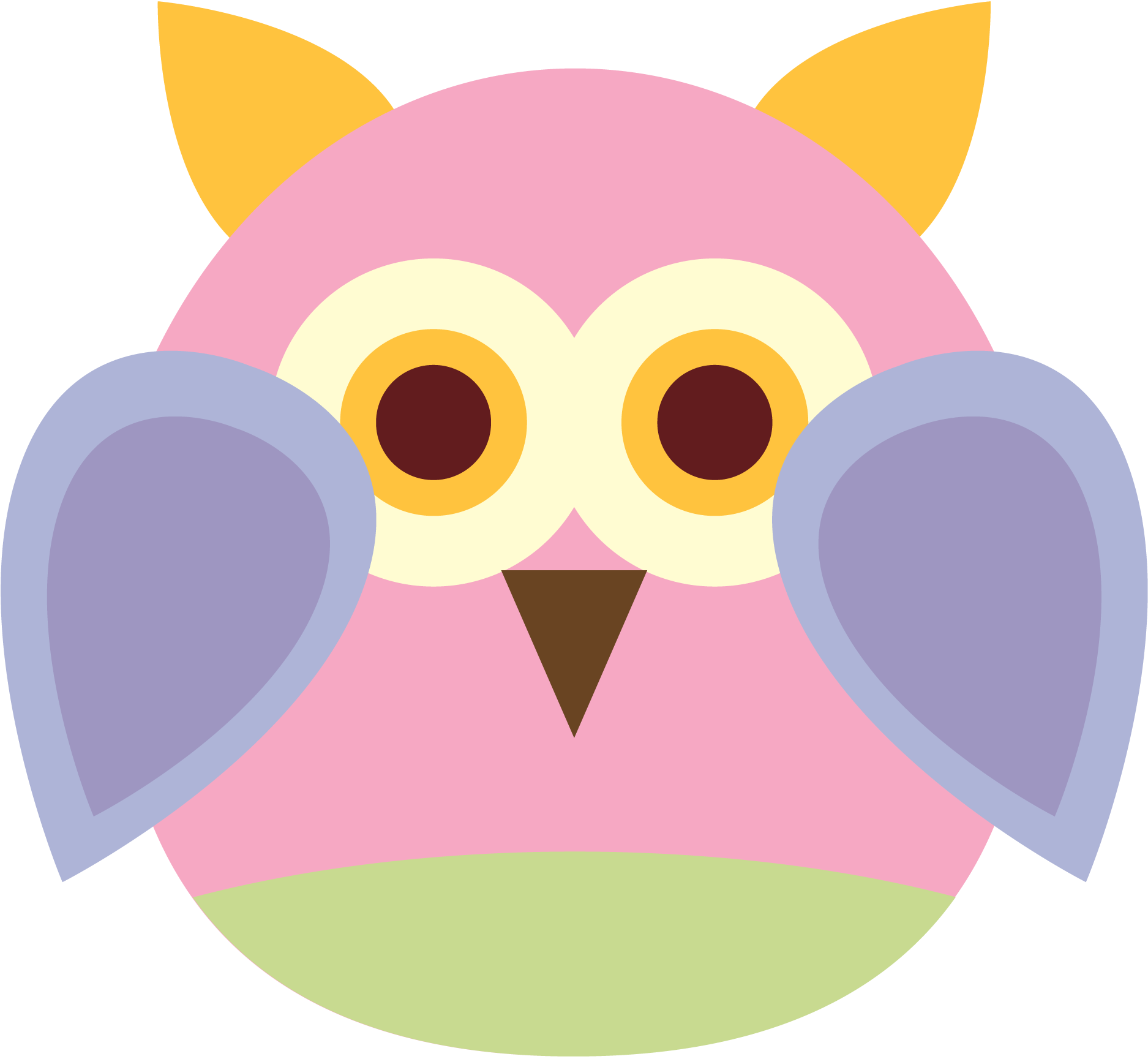 Purple Owl Clipart | Free download on ClipArtMag