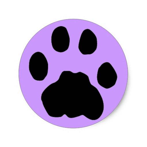 512x512 Images Purple Cougar Paw Logo