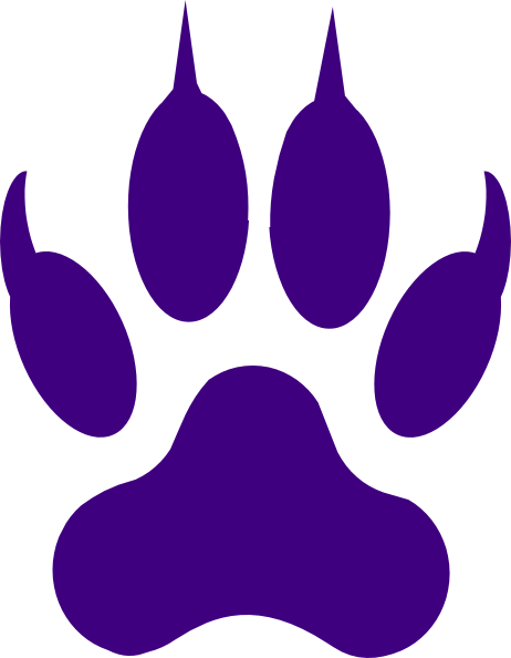 462x594 License Paw Print Clip Art