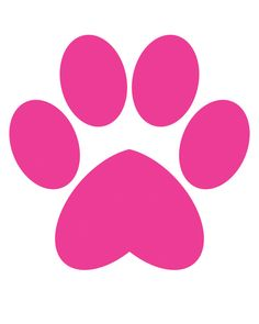 236x295 Pink Clipart Paw Print