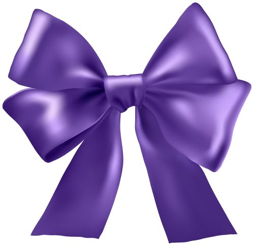 Purple Ribbon Clipart