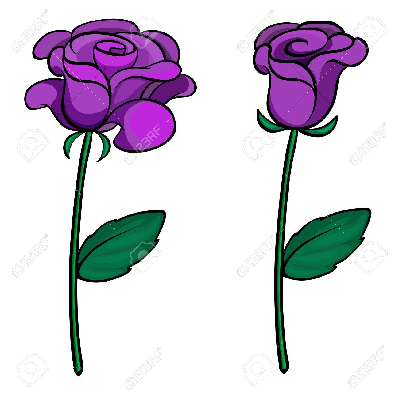 1300x1296 Purple Rose Clipart Purple Flower