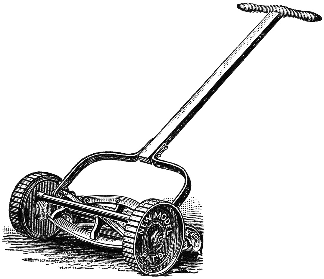 1099x946 Lawn Mower Push Mower Clipart Clipart Kid 2