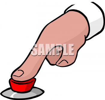 350x333 Finger Pushing Button Clip Art Cliparts