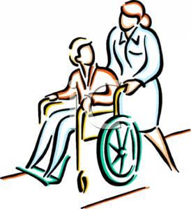 274x300 Nurse Clipart Wheelchair